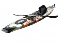 Hurricane Single Sit On Kayak Jungle Camo