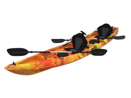 Monsoon Double Sit On Kayak Flame Orange