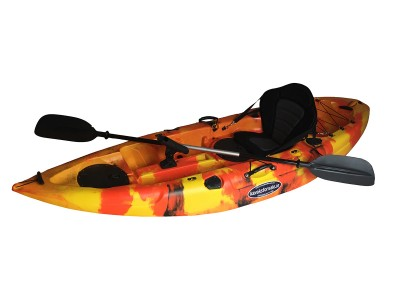 Storm Single Sit On Kayak Flame Orange