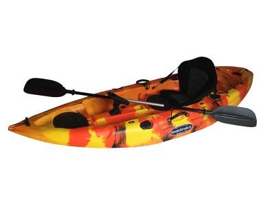 Storm Single Sit On Kayak Flame Orange
