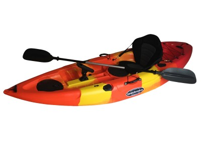 Storm Single Sit On Kayak Lava Red